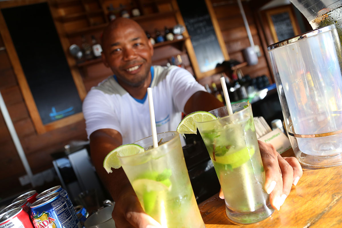 Voted Top 15 Best Beach Bar in the Caribbean